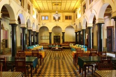 Main Hall of Chettinad Mansion