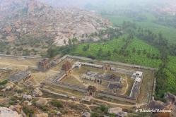 Achyutaraya Temple from Matanga Hill
