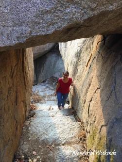 Climbing up Matanga Hill